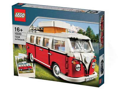 Spielzeug Lego, Camping T1 Rot/Weiß